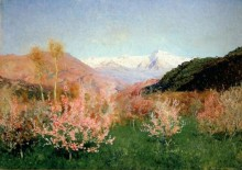 Весна в Италии - Левитан, Исаак Ильич