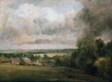 Деревня Хайгем на реке Стур - Констебль, Джон