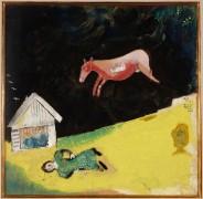 Летящая корова - Шагал, Марк Захарович
