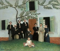 Семейный портрет - Руссо, Анри