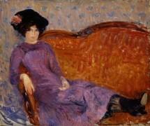Пурпурное платье - Глакенс, Уильям