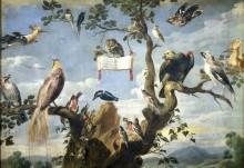 Птичий концерт, 1630 - Снайдерз, Франц