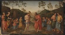 Крещение Господне - Перуджино, Пьетро