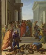 Сент-Пол проповедует в Эфесе - Лесюэр, Эсташ