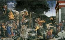 История Моисея - Боттичелли, Сандро