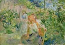 В саду - Моризо, Берта