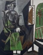 Женщина у окна - Пикассо, Пабло