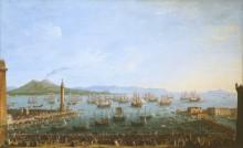 Прибытие Карла III в Неаполь - Жоли, Антонио