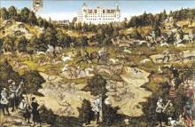 Охота в честь короля Карла V вблизи замка Торгау, 1544 - Кранах, Лукас