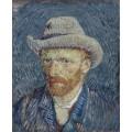 Автопортрет в фетровой шляпе (Self Portrait with Felt Hat), 1887-88 - Гог, Винсент ван