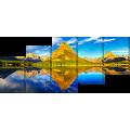 Горы и озеро копія