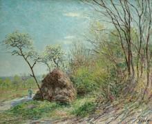 Опушка леса в Ле-Саблоне - Сислей, Альфред
