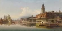Большой канал с дворцом дожей - Янковский, Вильгельм