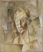 Кубическая голова (Портрет Фернанды) - Пикассо, Пабло