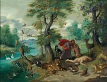 Сотворение Евы - Брейгель, Ян (младший)