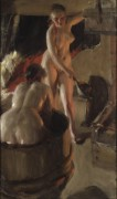 Даларнские женщины в бане - Цорн, Андерс