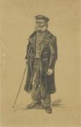 Старик с тростью (Old Man with a Stick), 1882 - Гог, Винсент ван