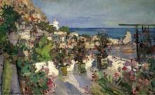 Вид с террасы, Гурзуф,  1912 - Коровин, Константин Алексеевич