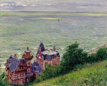 Виллы в Трувиле, 1884 - Кайботт, Густав
