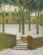 Площадь, Немур, 1930 - Сиданэ, Анри Эжен Огюстен Ле