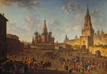Красная площадь в Москве - Алексеев, Фёдор Яковлевич