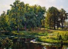 В парке, 1897 - Шишкин, Иван Иванович