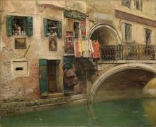 Канал в Венеции - Каприле, Виченцо
