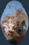 Аллегория с Венерой и Временем - Тьеполо, Джованни Баттиста
