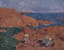 Красные скалы - Вальта, Луи