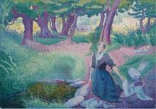 Прачка, 1895-96 - Кросс, Анри Эдмон