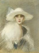 Портрет молодой женщины - Эллё, Поль-Сезар