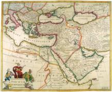 Карта Турецкой империи