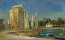 Порт в Ла-Рошель, 1896 - Ренуар, Пьер Огюст