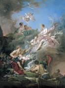 Венера в кузнице Вулкана - Буше, Франсуа