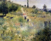 Тропинка в высокой траве - Ренуар, Пьер Огюст