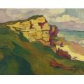 Скалы на берегу моря - Вальта, Луи