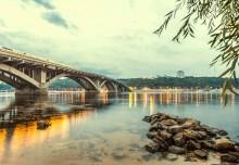 Мост через Днепр - Сток