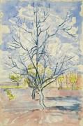 Цветущие персиковые деревья (Blossoming Peach Trees), 1888 - Гог, Винсент ван