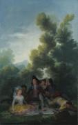 Пикник - Гойя, Франсиско Хосе де