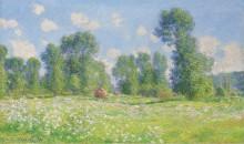 Весна в Живерни, 1890 - Моне, Клод