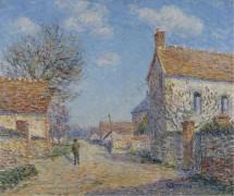 Улица Сен-Сир, солнце, 1900 - Луазо, Гюстав