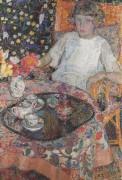 Девочка за столом, 1921 - Смет, Леон де