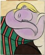 Женщина с желтыми волосами - Пикассо, Пабло
