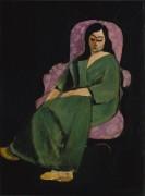 Лоретта в зеленом халате - Матисс, Анри