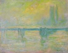 Мост Чаринг-Кросс, туман - Моне, Клод