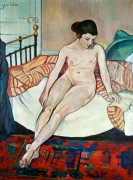 Обнаженная на кровати - Валадон, Сюзанна