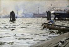 Порт в Гамбурге - Цорн, Андерс