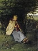 Вязальщица - Милле, Жан-Франсуа
