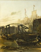 Вид на гавань в Схидаме - Пейнакер, Адам