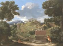 Пейзаж с руинами, 1634 - Пуссен, Никола
